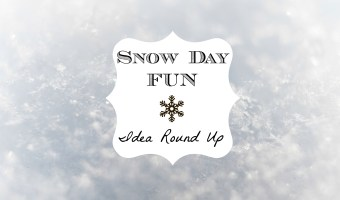 Snow Day Fun: Idea Round Up