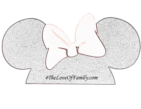 How To Make Disney Photobooth Props (with FREE printables) Minnie Mouse Ears With Bow, Donald Duck Beak, Mickey Mouse, Ice Cream Bar, Mickey glove thumbs up, pointing Disneyside