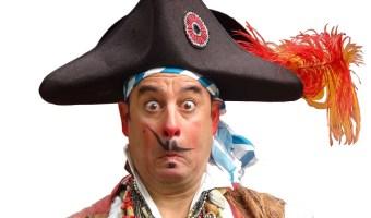 Comedy Pirate Show At Circus Mojo – May 9 & 10, 2014