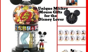 10 Unique Mickey Mouse Gifts For The Disney Lover #DisneySide