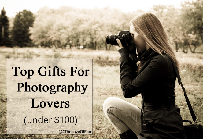These are Perfect! Top Gifts for Photography Lovers Under $100 - A Photographer Holiday Gift Guide
