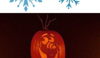 Free FROZEN Pumpkin Carving Halloween Templates ~ FREE Stencil Printables (Elsa, Anna, Olaf, Kristoff)