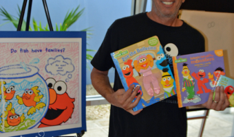 What's It Like To Be A Sesame Street Character Artist? We Asked Barry Goldberg