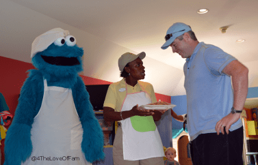 We Made Cookies With Cookie Monster at Beaches Resorts!! ~ 4 The Love Of Family!