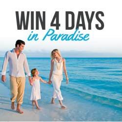 Enter before the chance is over! WIN A Beaches or Sandals Resorts Vacation Experience!