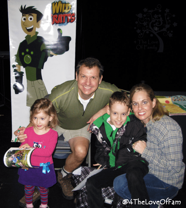 Wild Kratts Live and in person, yes please!!! ** Wild Kratts Live Tour: Sneak Peek 4 The Love Of Family