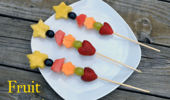 Fresh Fruit Wands
