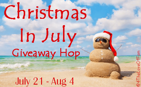 Follow the #ChristmasInJuly Giveaway Hop and enter to win multiple prizes including the GRAND PRIZE- a PBS Kids Prize Pack valued at $140+