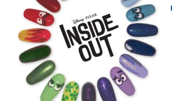 Wear Your Emotions On Your Nails With Disney's Inside Out Nail Art