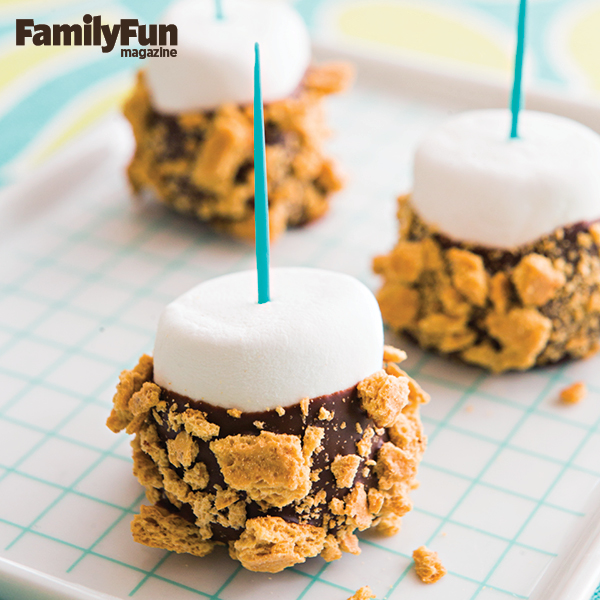 S'mores Bon-Bon Pops from @4TheLoveOfFam
