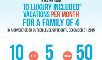 Win One Of 50 Beaches Resorts' Luxury Family Vacations!