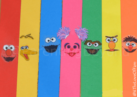 This would be so fun with the kids to count down to vacation! DIY #SesameStreet Countdown Chain + Free Sesame Street Printables Sesame Street