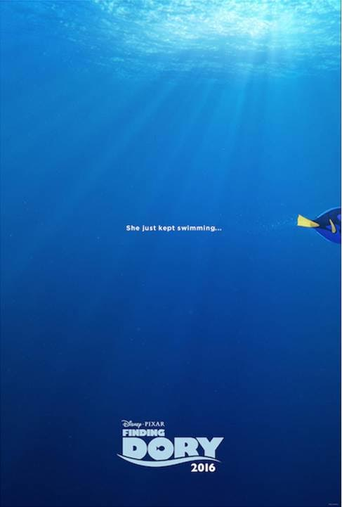 Finding Dory Teaser! Finding Dory swims into theaters June 17, 2016. Check out the trailer here!