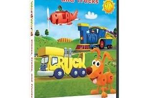 """WORDWORLD DVD """"Planes, Trains & Trucks"""""""
