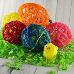Yarn Eggs Kid's Craft