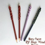 DIY Harry Potter Magic Wand Pencils