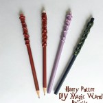 DIY Harry Potter Magic Wand Pencils