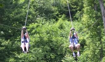 Adding Adventure To A Romantic Getaway In Hocking Hills, Ohio