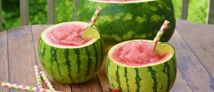 Healthy Refreshing Watermelon Slushie Recipe