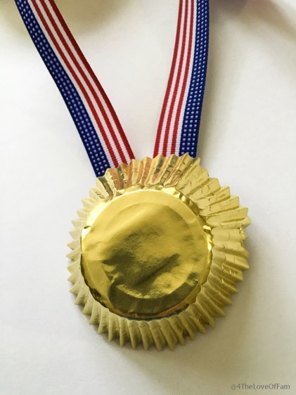 DIY Olympic Gold Medal Snack Containers from 4 The Love Of Family7