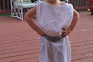 Quick Pillowcase Princess Leia Costume For Toddlers