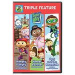 Super Why DVD Triple Feature Release