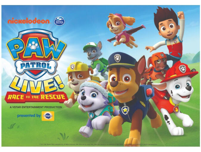 "PAW Patrol Live! ""Race to the Rescue"" In Cincinnati - Win Tickets!"