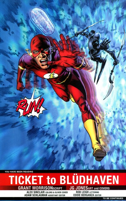 Image result for final crisis 2 barry allen