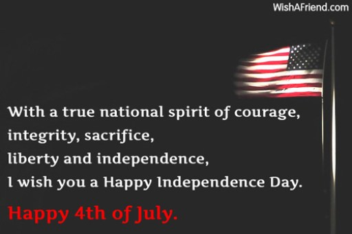 Patriotic 4th of July Quotes Pictures
