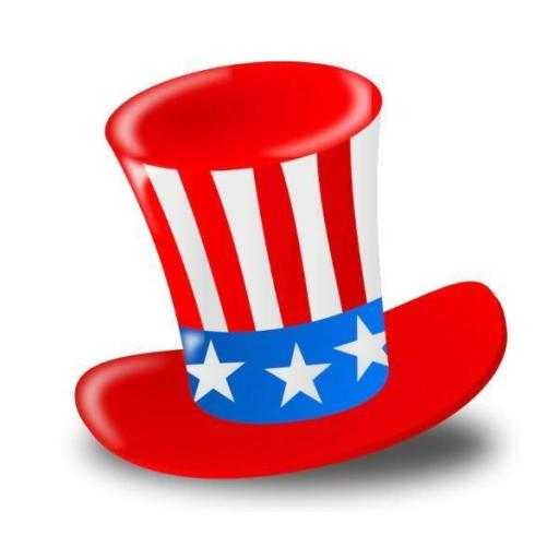 4th of July Hat Clipart Images