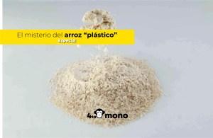 ¿Qué es el proceso de extrusión en el arroz fortificado?