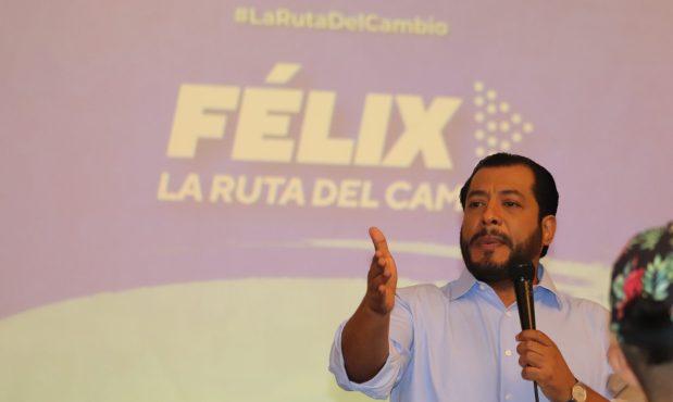 """Félix Maradiaga: """"hemos decidido luchar hasta el último minuto por la unidad"""""""