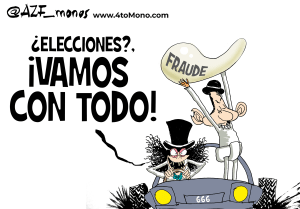 El fraude electoral