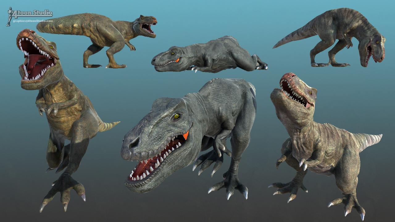 Mosasaurus 4toonstudio