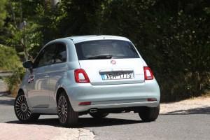 Δοκιμάζουμε το Fiat 500 Hybrid