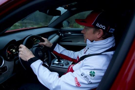 Ένα Alfa Romeo Stelvio για την Kimi Raikkonen