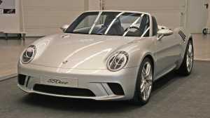 550one, το άγνωστο πρωτότυπο της Porsche