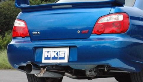 hks silent hi power type s exhaust impreza wrx sti 2004 2007 31019 af015