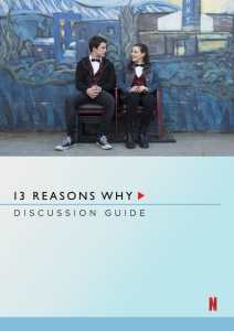 Netflix 13 Reasons Why Discussion Guide
