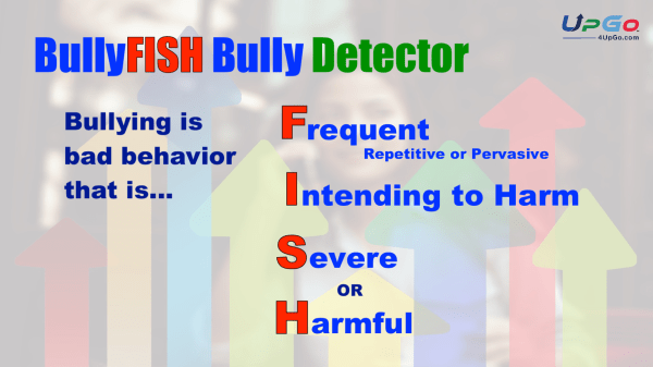 Use the UpGo Bully Detector to identify true bullying