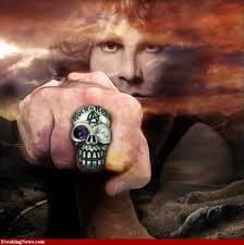 jim morrison anillo muerte