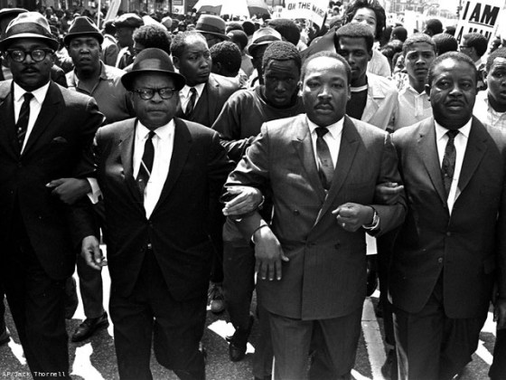 LUTHER KING MARCHA
