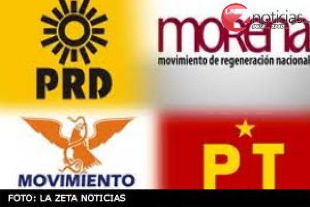 PARTIDOS IZQUIERDA LOGOS