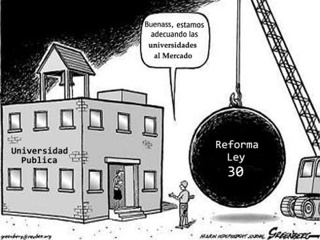 UNIVERSIDAD PUBLICA DESTRUCCION CARTON