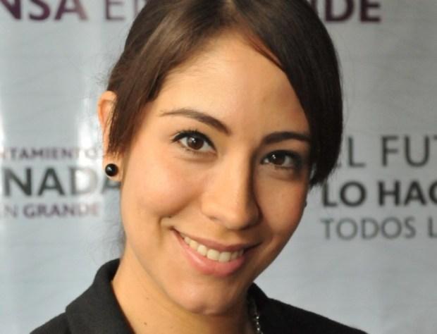 La directora de Ecología Municipal, Pamela Castro Figueroa (Foto: XXI Ayuntamiento de Ensenada).