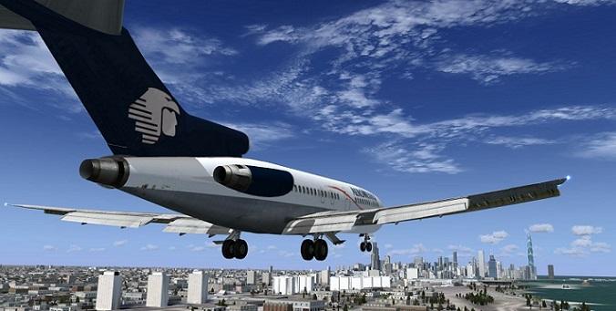 El jet Boing 727-100 de AeroMéxico (Foto: Internet).