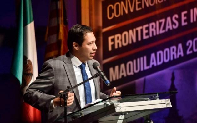 El presidente nacional de la CANACINTRA, Rodrigo Alpizar (Foto: CANACINTRA).