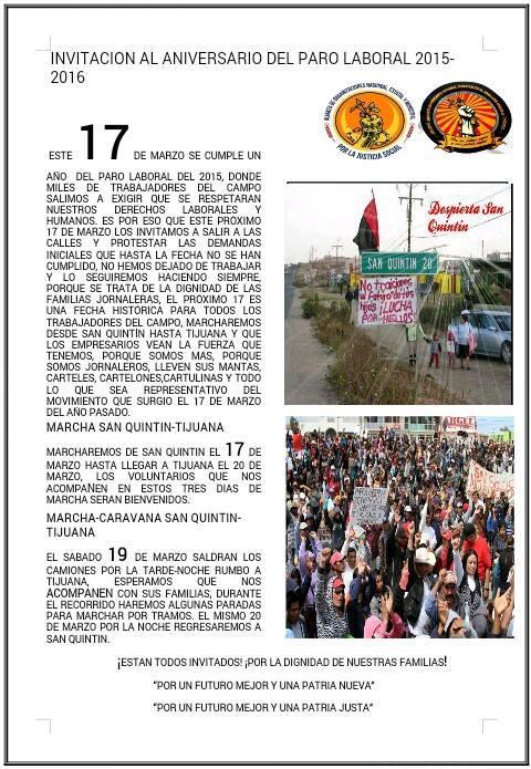 jornaleros huelga aniversario