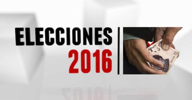 ELECCION 2016 DINERO CORRUPCION