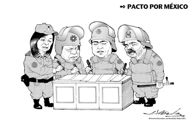 PACTO POR MEXICO CARTON